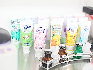 フッ素入り歯磨き剤